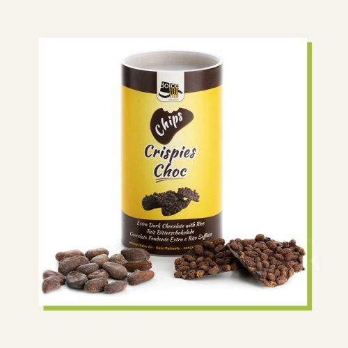 chips cioccolato fondente in tubo